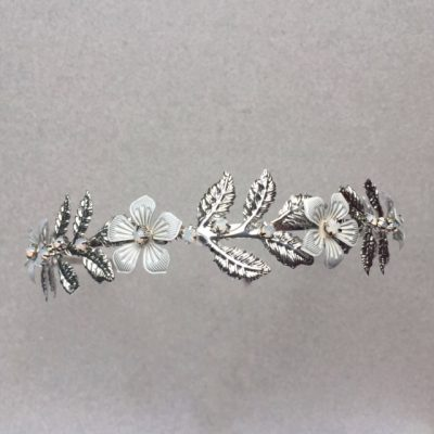 Posy Botanical Low Tiara