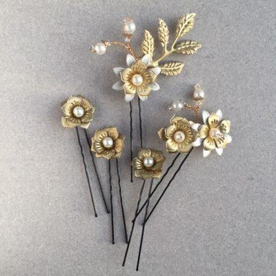 Posy Botanical Hair Pins