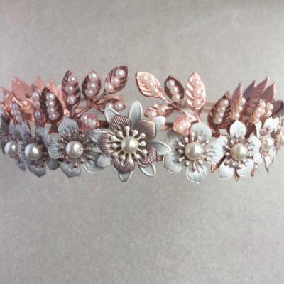 Cherry Blossom Botanical Tiara