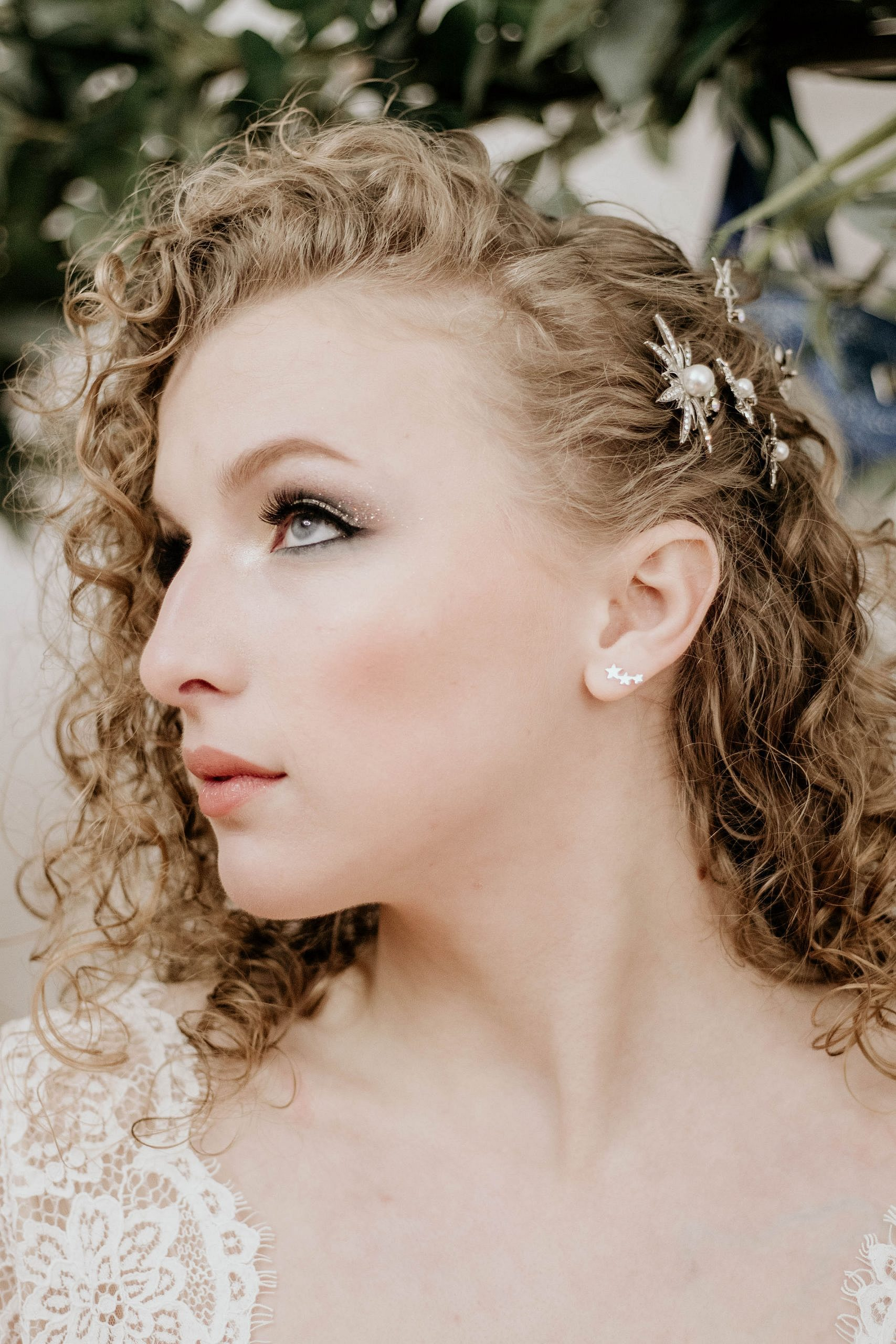 Celestial diamante hairpins