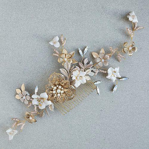 Boho bridal hair vine